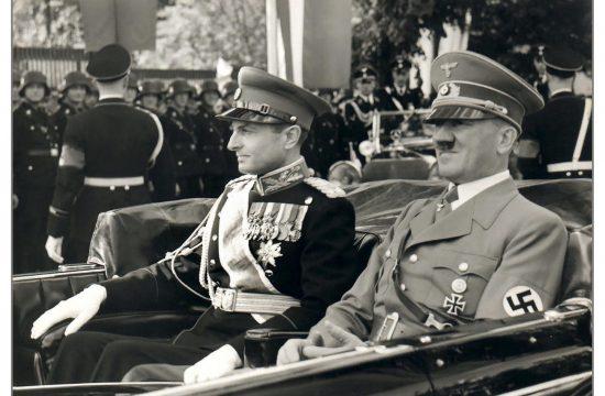 Pavle Karađorđević, Adolf Hitler