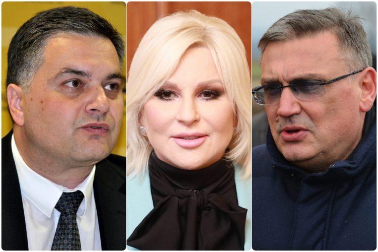 Miodrag Poledica Zorana Mihajlovic i Zoran Drobnjak