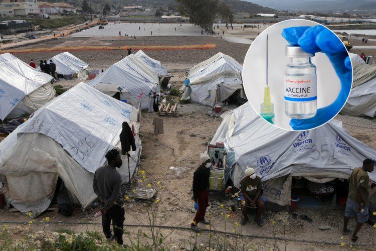 migranti, vakcina