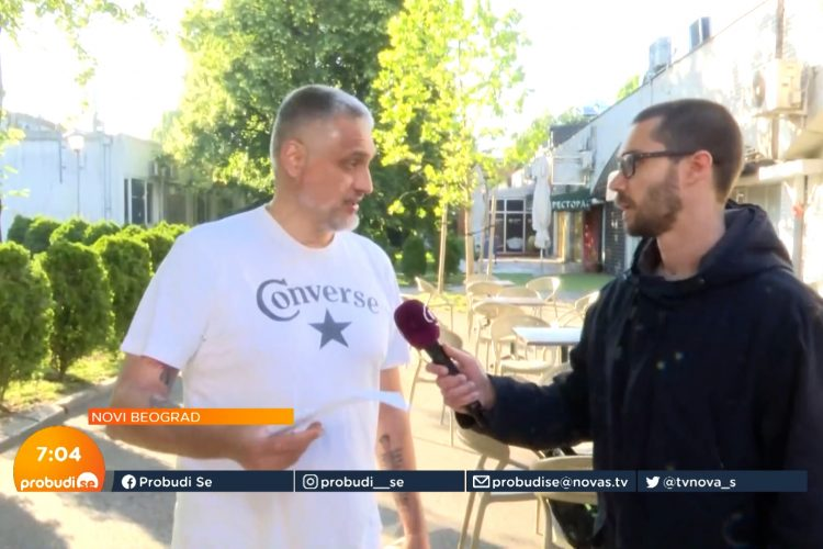 Čedomir Jovanović incident navijači