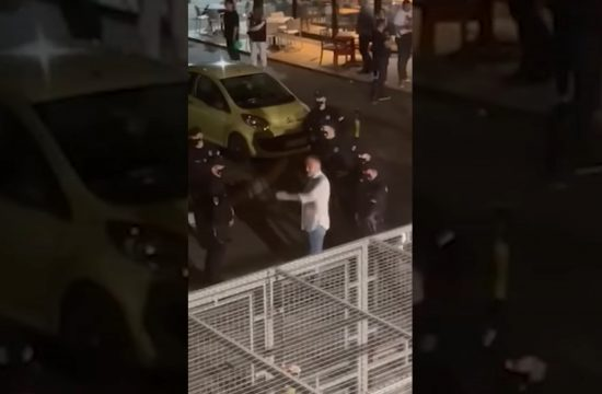 Čedomir Jovanović, incident, Pončo, Novi Beograd, policija