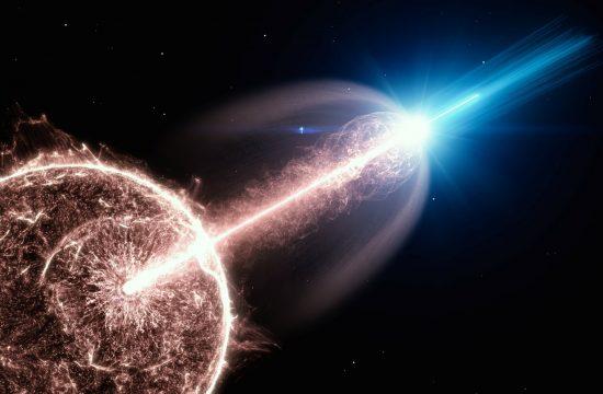 gama zrak eksplozija svemir kosmos