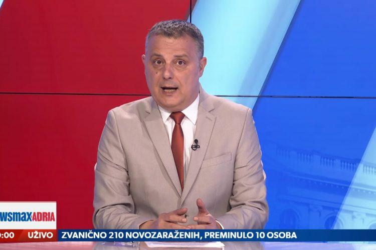 Goran Dimitrijević, emisija Pregled dana