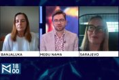 Tanja Topić, Ivana Marić, emisija Među nama, Medju nama