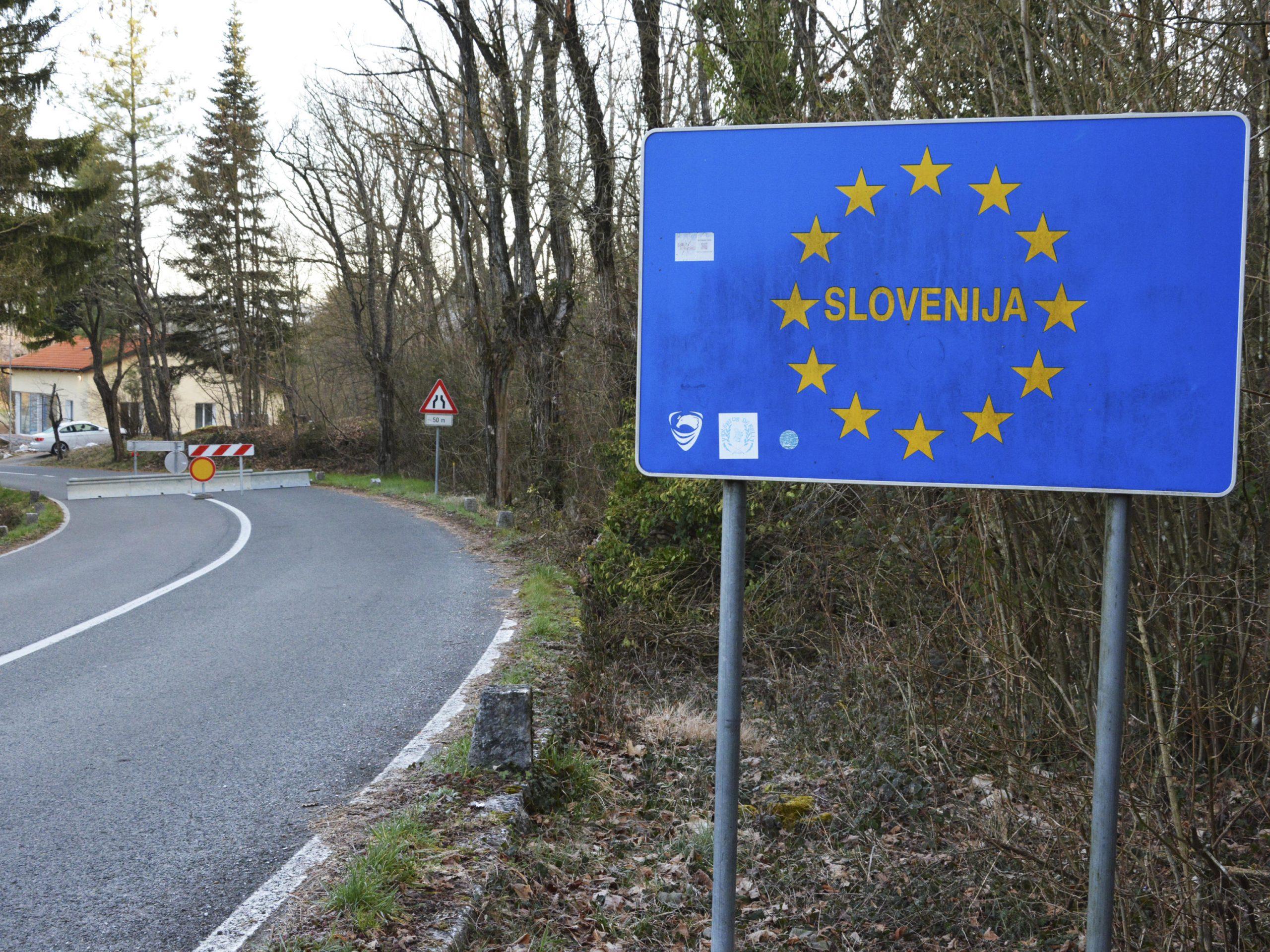 Slovenija, granica