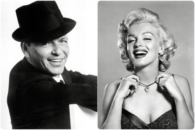 Frenk Sinatra Merilin Monro Marilyn Monroe Frank Sinatra