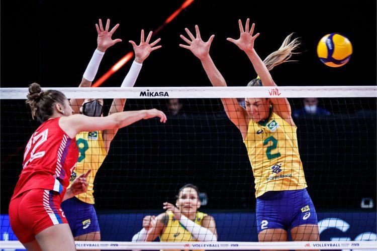 Odbojkašice izgubile od Brazila u Ligi nacija