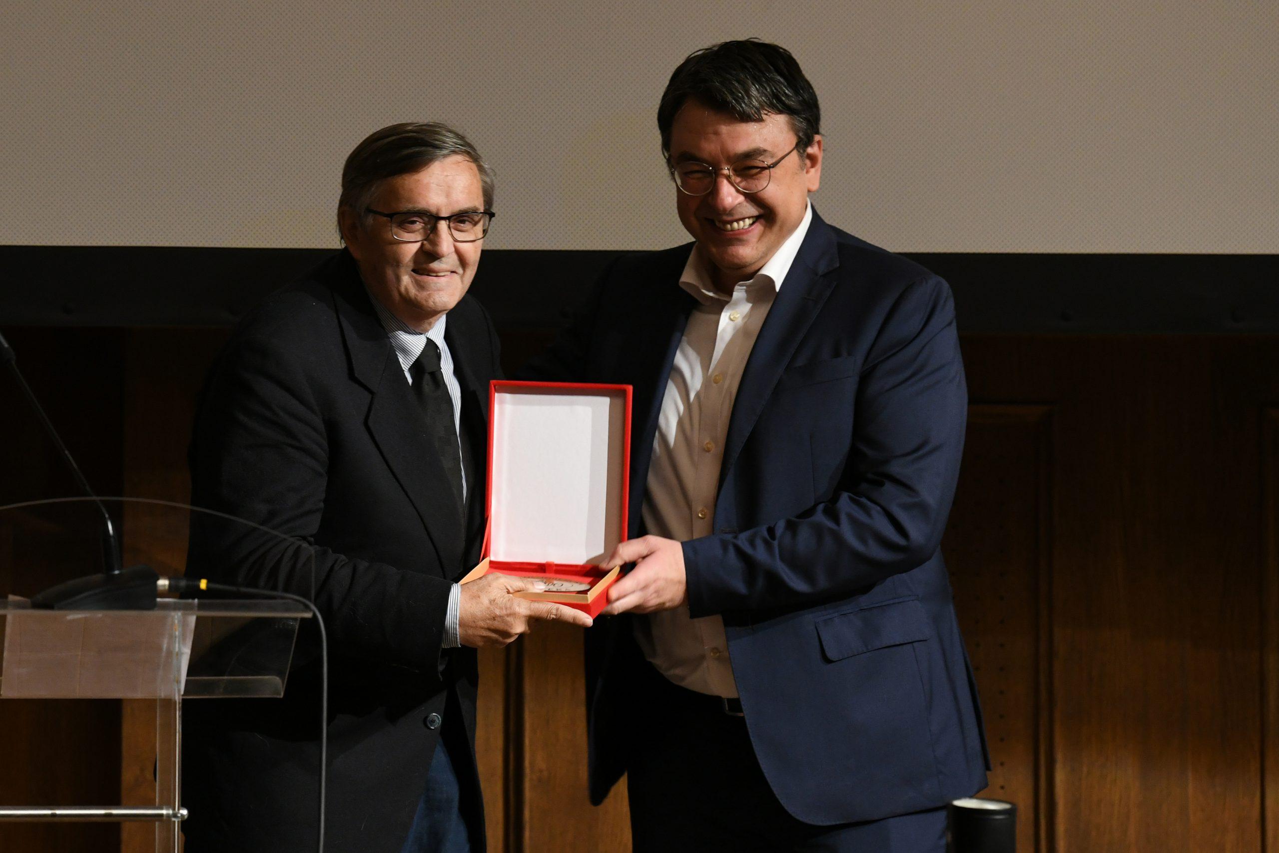 Jugoslovenska kinoteka dodela priznanja Zlatni pecat Radoslav Zelenovic i Jugoslav Pantelic