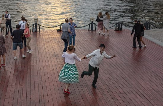 Moskva ples Rusija