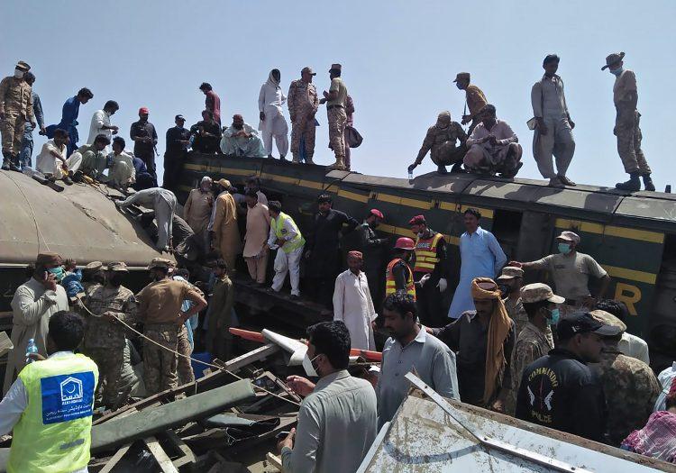 pakistan nesreća