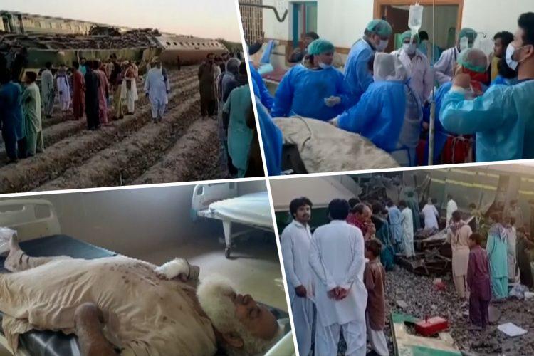 pakistan železnica nesreća