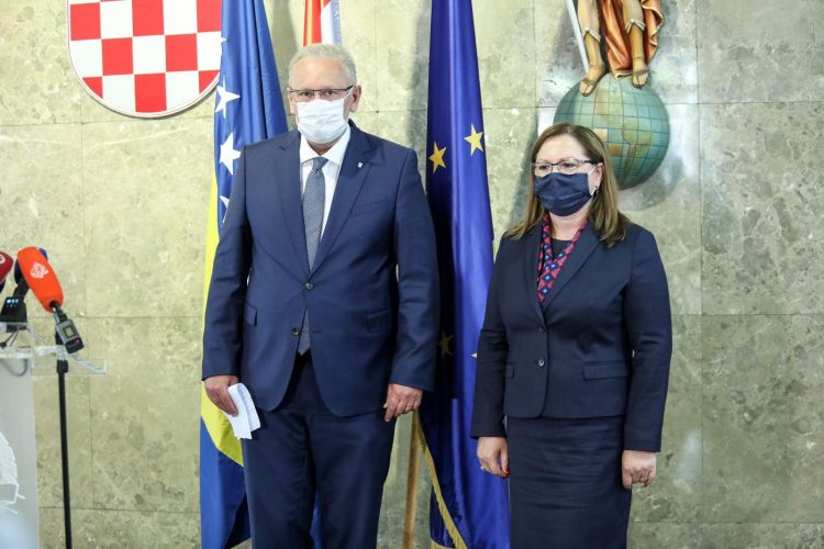 Davor Božinović i Ankica Gudeljević