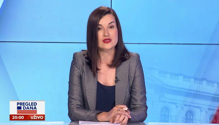 Jelena Obućina u emisiji Pregled dana