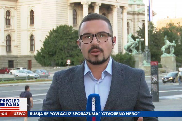 Željko Jovanović, Dok čekamo novi , važi li postojeći Ustav, prilog, emisija Pregled dana