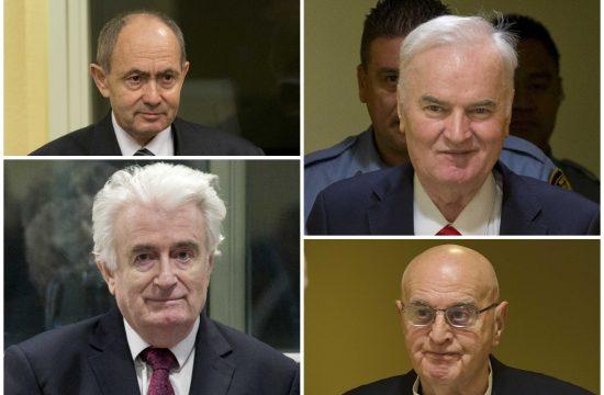 Zdravko Tolimir, Ratko Mladić, Radovan Karadžić, Ljubiša Beara