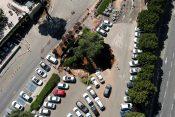 Jerusalim, rupa, parking