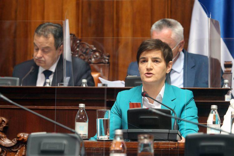 Ana Brnabic sednica Skupstina Srbije