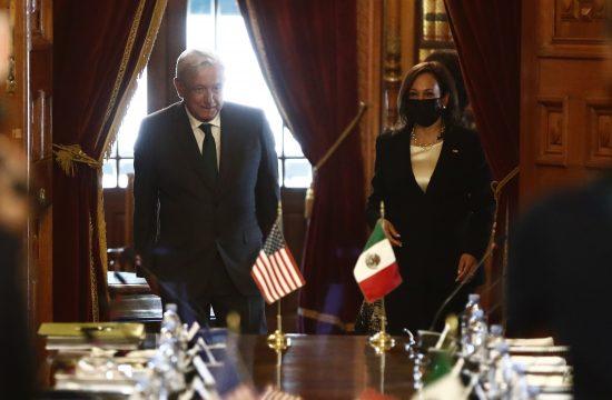 Andres Manuel Lopez Obrador, Kamala Haris