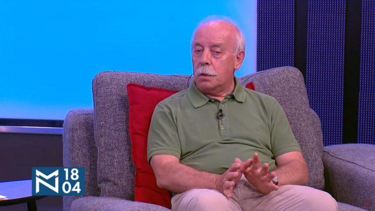 Milan Prostran, emisija Među nama, Medju nama
