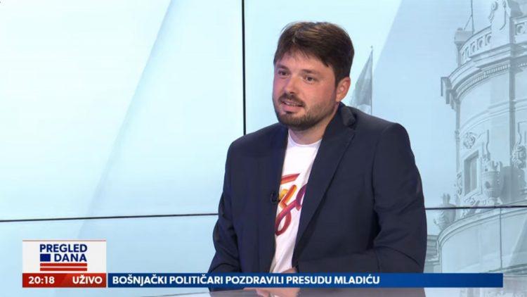 Miloš Milisavljević, gost, emisija Pregled dana