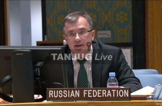 Rusija, Sednica Saveta Bezbednosti UN