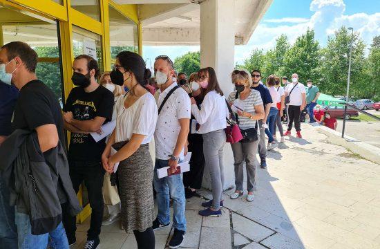 Vranje gradjani Severna Makedonija vakcinacija vakcina
