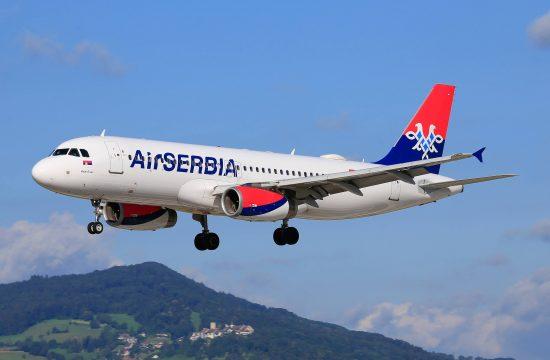 Avion Er Srbija AirSerbia