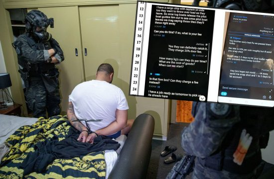 Australija hapsenje