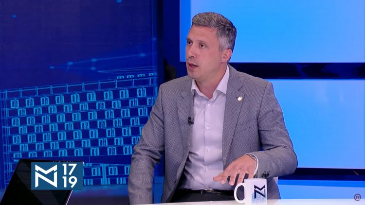 Boško Obradović, emisija Među nama, Medju nama