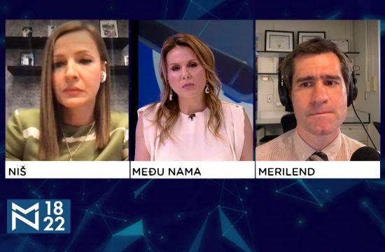 Dr Ana Cvetanović, dr Miloš Miljković, emisija Među nama, Medju nama