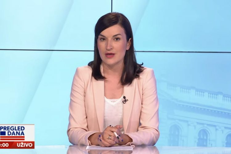 Jelena Obućina, emisija Pregled dana