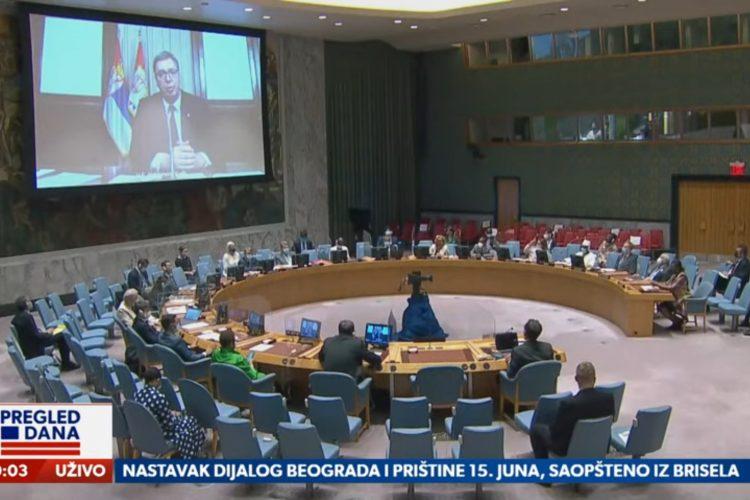 Aleksandar Vučić, UN Savet bezbednosti, Istorijski govor, Šta je istorijsko u Vučićevom govoru u UN, prilog, emsija Pregled dana