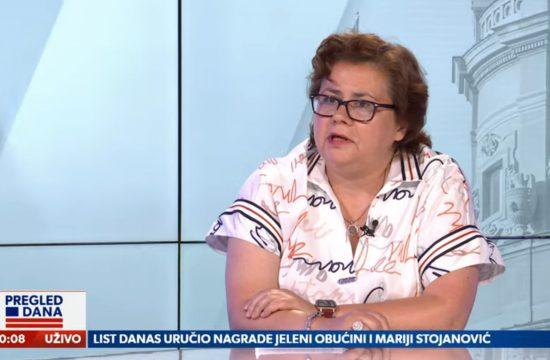 Lidija Komlen Nikolić, gost, emisija Pregled dana