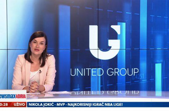 United group, poslovanje, emisija Pregled dana
