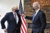 Boris Džonson i Džo Bajden Boris Johnson Joe Biden