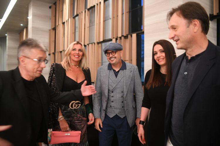 Sinisa Mihajlovic i Marija Rapaconi Mihajlovic Sasa Popovic Promocija novog albuma
