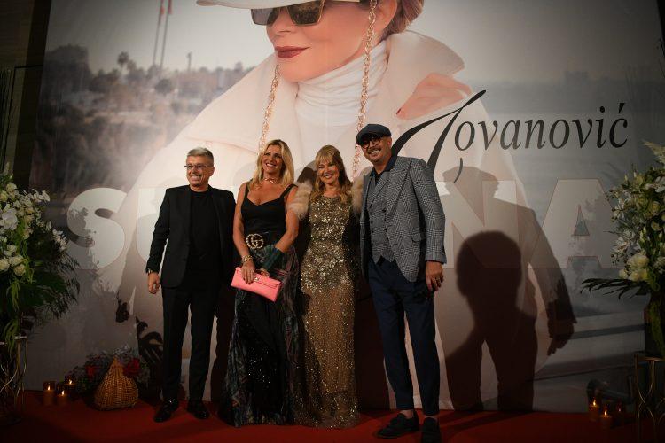 Sinisa Mihajlovic i Marija Rapaconi Mihajlovic Sasa Popovic Suzana Jovanovic Promocija novog albuma