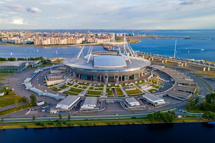 Stadion Gazprom Arena Saint Petersburg