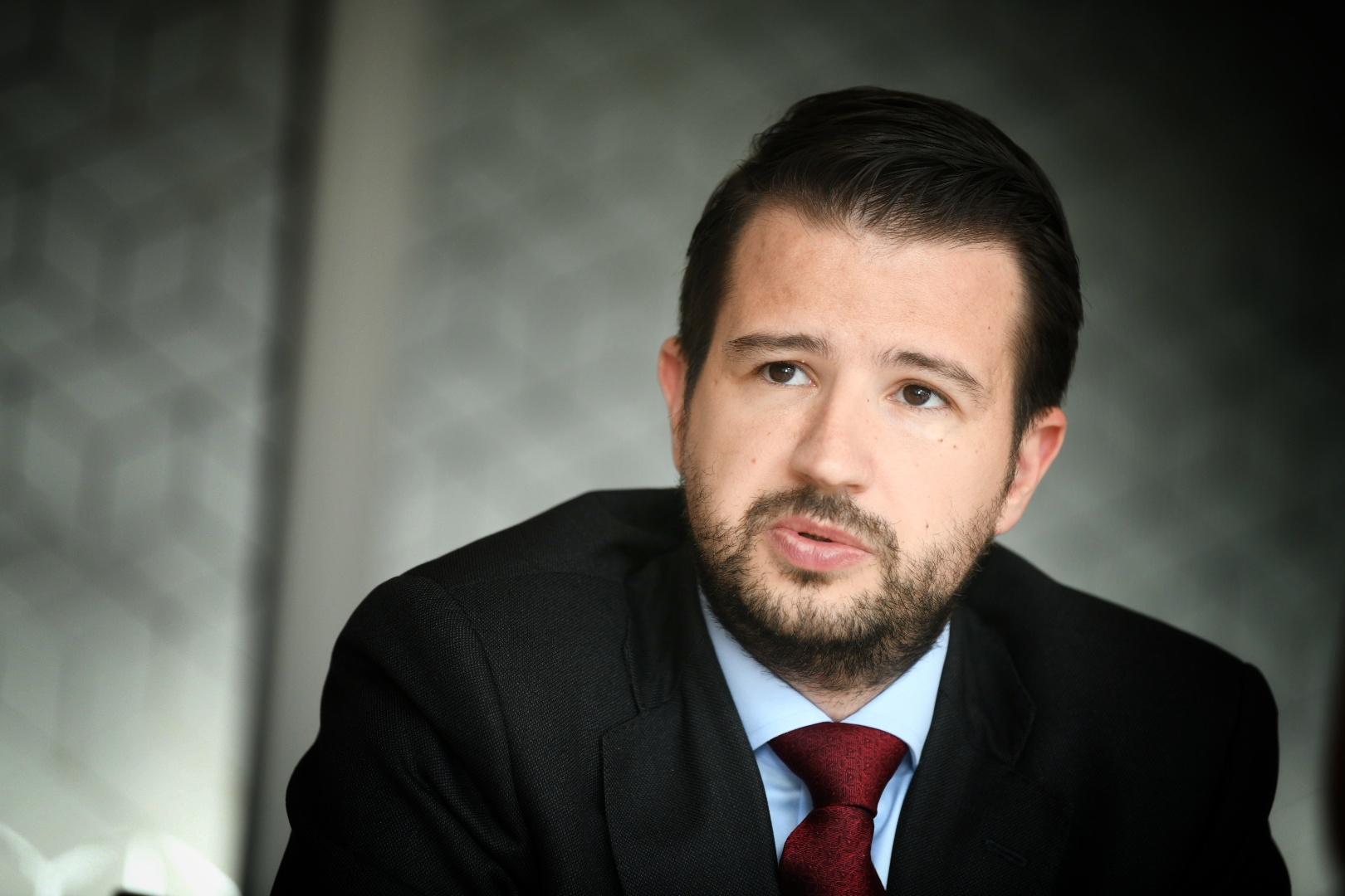 Jakov Milatovic ministar ekonomskog razvoja Crne gore