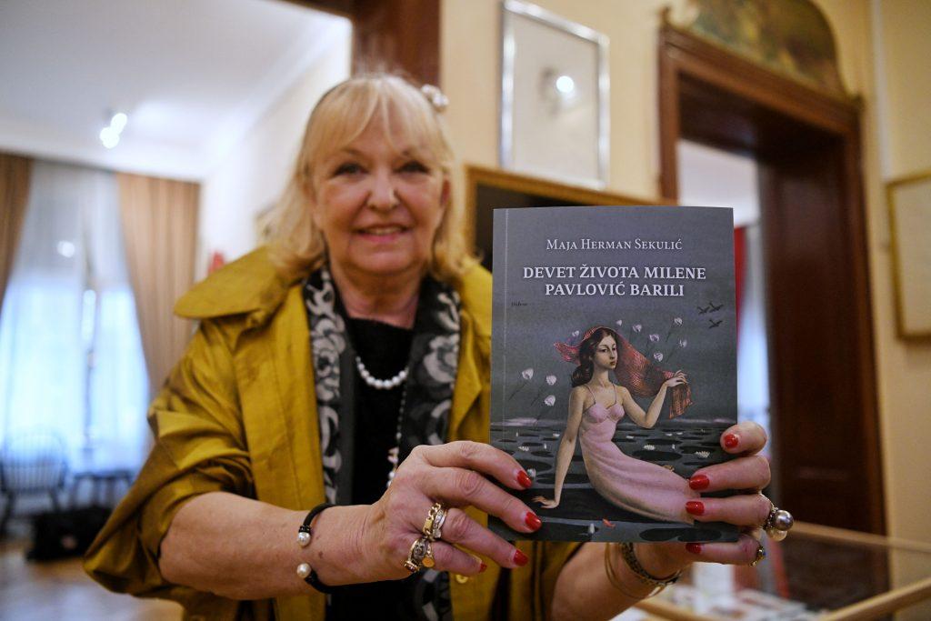 Maja Herman Sekulic Promocija knjige Devet zivota Milene Pavlovic Barili