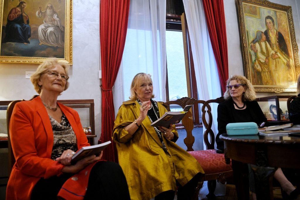 Irina Subotic Maja Herman Sekulic Neda Todorovic na promociji knjige Maje Herman Sekulic