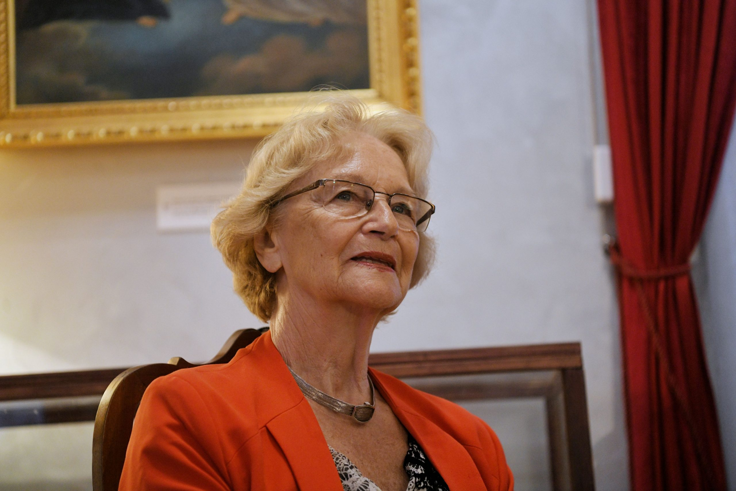 Irina Subotic na promociji knjige Maje Herman Sekulic