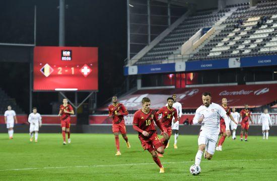 Fudbalska reprezentacija Belgije, Švajcarske
