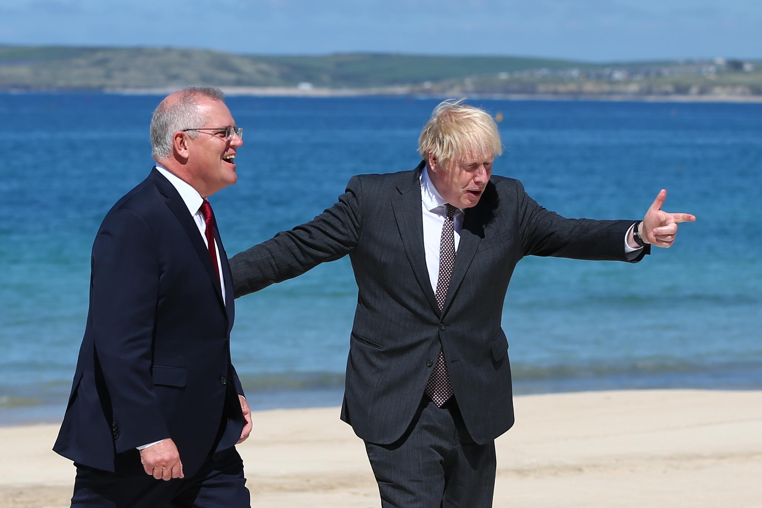 G7, samit, Engleska, Kornvol
