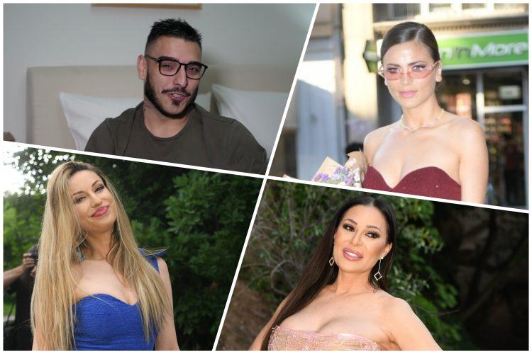 Darko Lazić, Milica Pavlović, Rada Manojlović, Radmila Manojlović, Ceca Ražnatović, Svetlana Ražnatović
