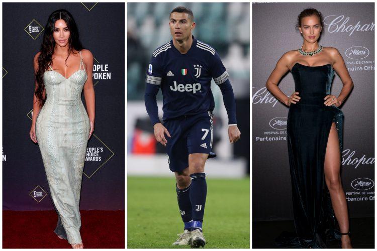 Kim Kardašijan, Kristijano Ronaldo, Irina Šajk