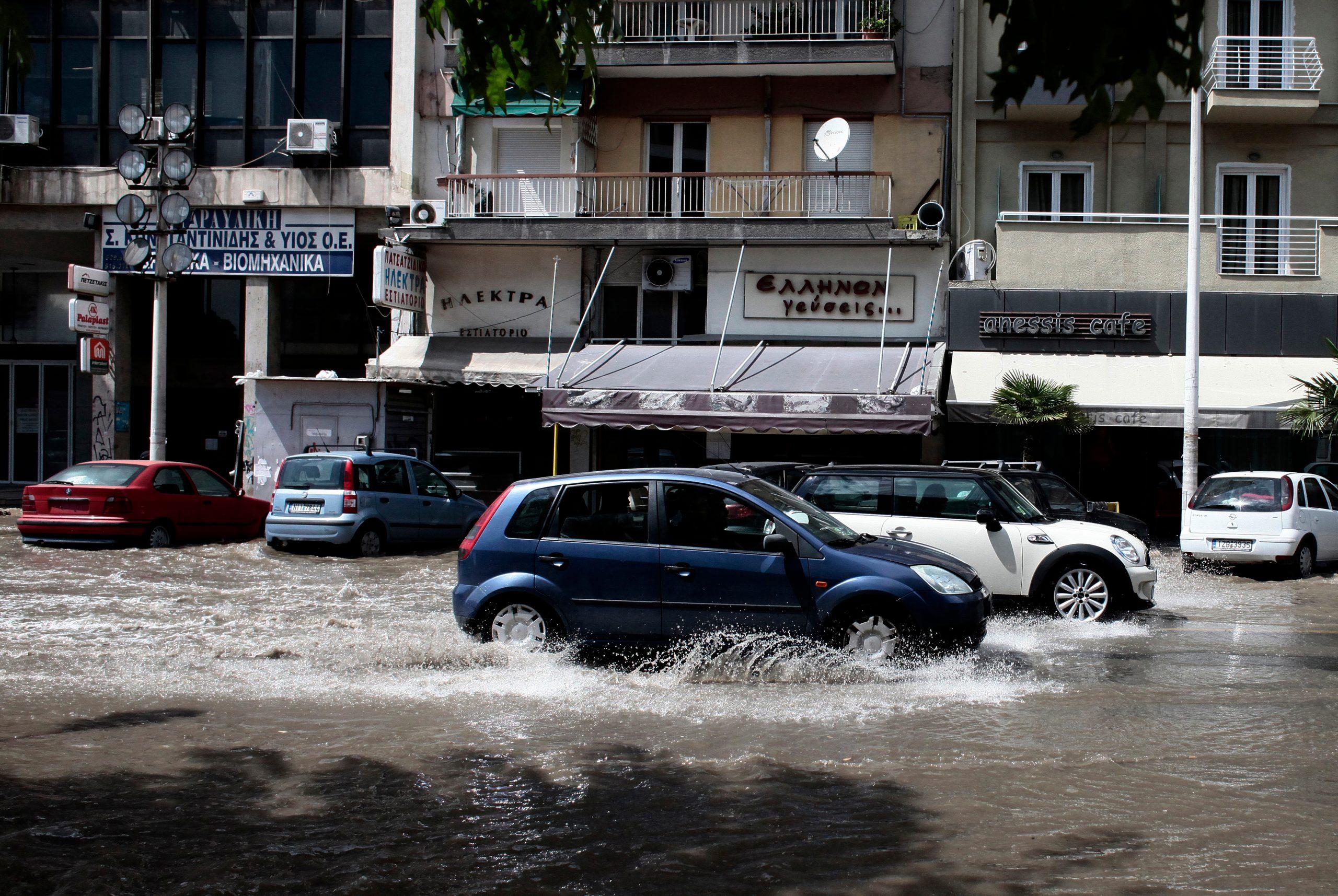 Grčka, nevreme, poplava