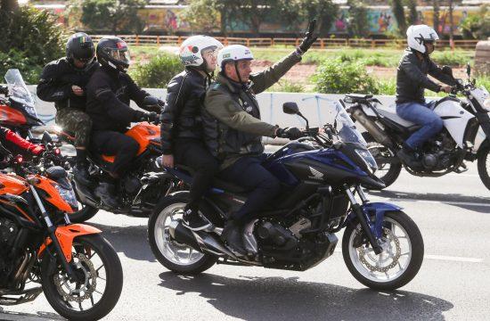 Žair Bolsonaro, motociklisti