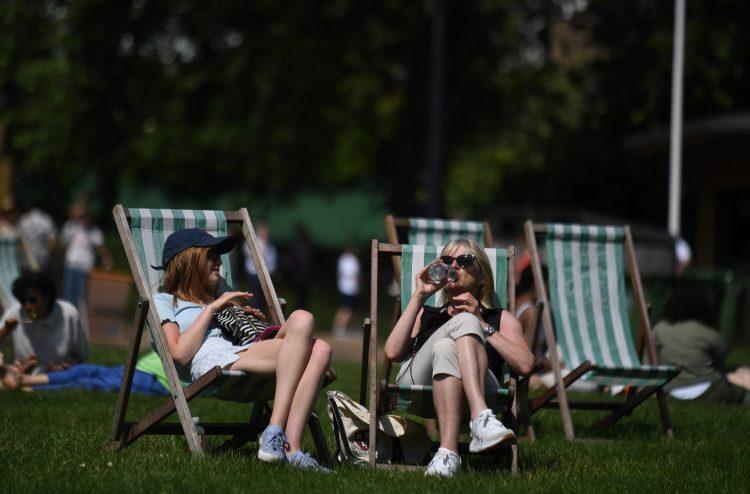 park; odmor; lepo vreme; leto