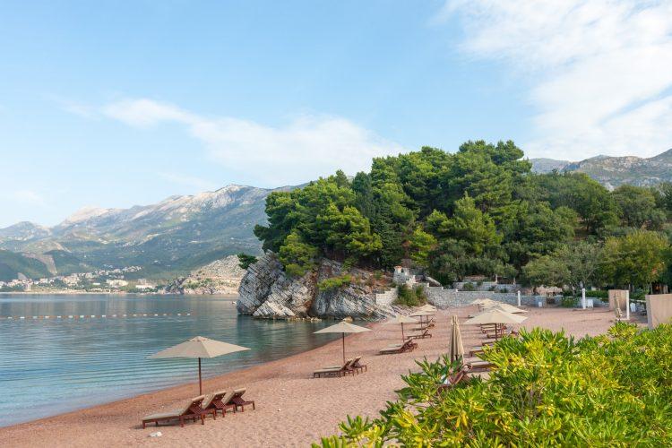 Kraljičina plaža; Crna Gora; more